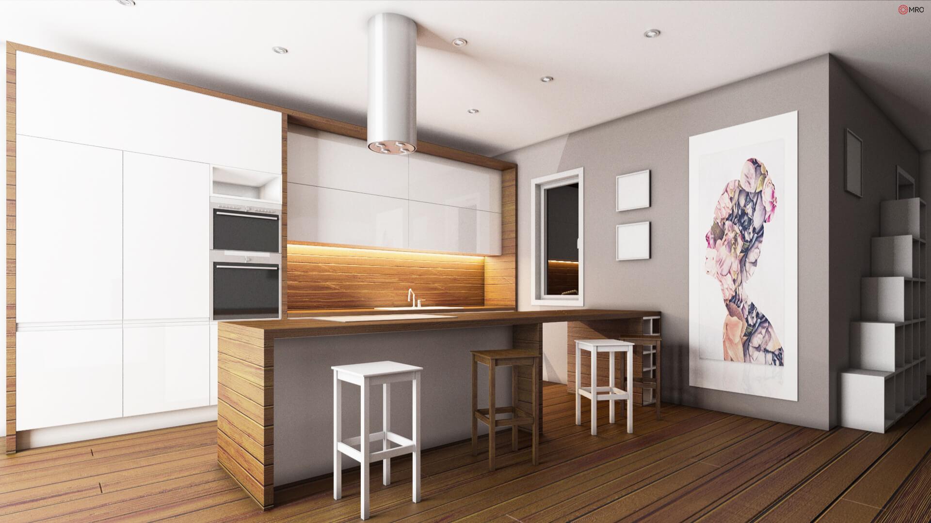 Wooden Kitchen, (Turin)